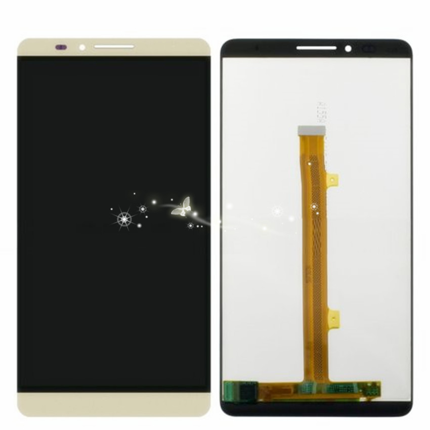 A LCD Screen + Touch Screen Digitizer Assembly for Huawei Ascend Mate 7 free shipping
