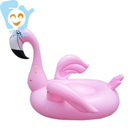 Inflatable Thin Long Neck Flamingo Pool Float Ride on Water Toys Mattress Fun Swimming Floats Raft Airbed Boia Piscina