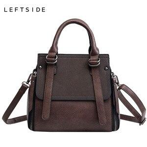 Image 5 - LEFTSIDE Vintage nuove borse per donna 2021 borsa in pelle di marca femminile borse piccole di alta qualità borse a tracolla da donna Casual