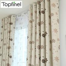 Topfinel Новинки готовые роскошные современный затемненные шторы для гостиной спальни кухня заказные шторы Тюль для окна