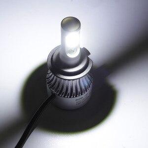 Image 3 - Auxmart светодиодный H7 H4 H11 лампы H1 H3 HB4 9006 HB3 9005 H13 светодиодный головной светильник комплект 72 Вт 8000lm 6500K светодиодный светильник Авто H 7 11 светодиодный автомобильный светильник 12v