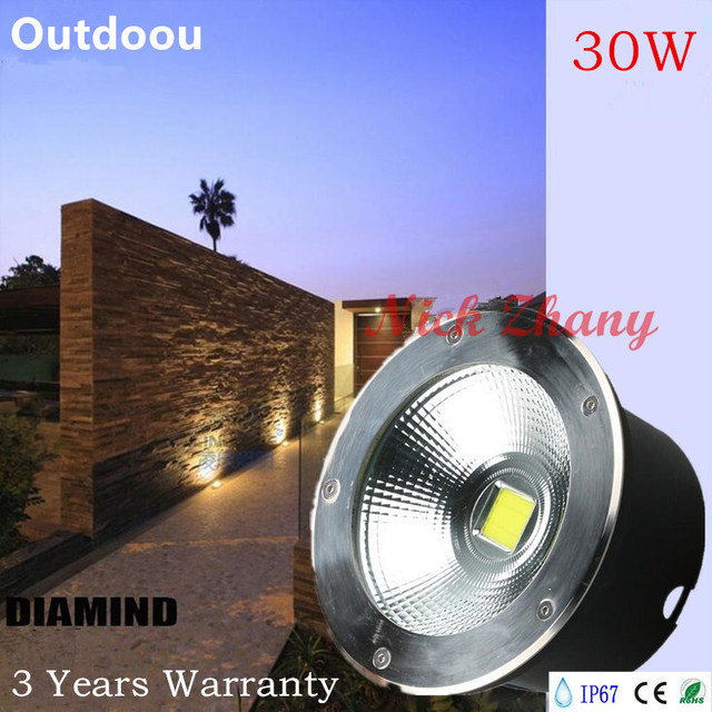 6pcslot ip6730w led cob underground light lampled recessed light 6pcslot ip6730w led cob underground light lampled recessed light led aloadofball Images