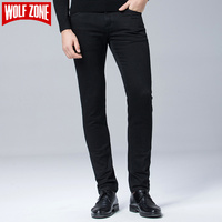 Hot Sale Winter Jeans Men Slim 2017 Spring Fashion Brand Men Designer Stretch Cotton Casual Business