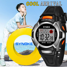 Children Watches LED Digital Double Action Wrist Sports Kids