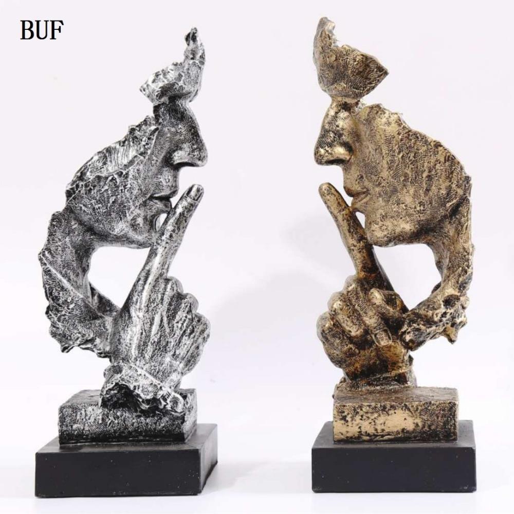 BUF Dekoration minimalistische Statue Mode Abstrakte Ruhige - Wohnkultur - Foto 1