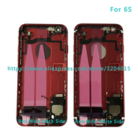 DHL 20Pcs Lot AAA Back Middle Frame Chassis For IPhone 6 6G 6S Full Housing Assembly