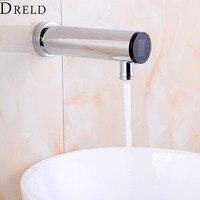 Automatic Sensor Faucet Bathroom Sense Faucet Hand Touchless Sensor Tap Hot Cold Water Mixer Faucet Brass