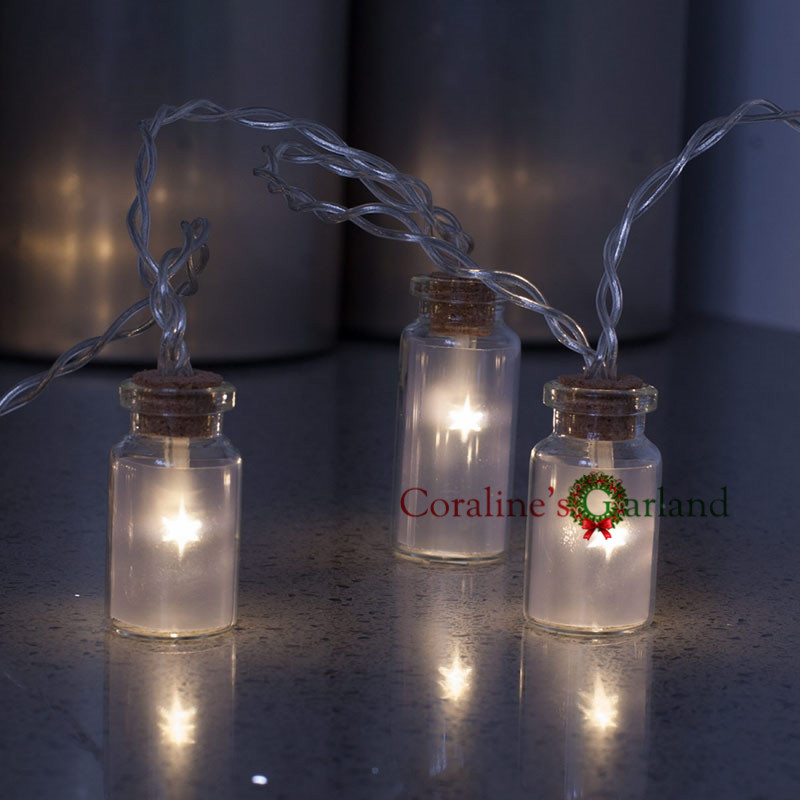 Novelty Glass Jar Mini Battle LED String Lights With 20 LED Battery  Operated For Wedding Party Fairy Lights Christmas Deocration In LED String  From Lights ...