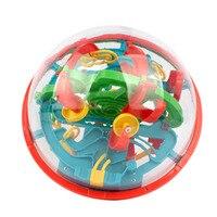 Große 100 Schritte 3D Magie Intelligenz-ball Maze Ball Track Puzzle Spielzeug Perplexus Spiel Kinder Erwachsene Magnetische Kugeln Toys für Kinder