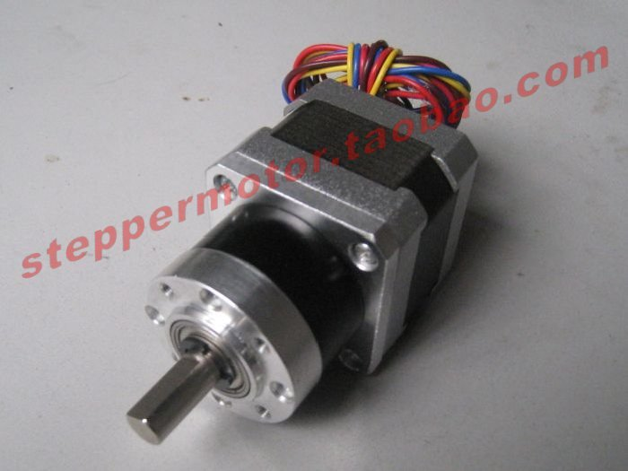 42mm two-phase four-step step planetary gear motor DIY accessories torklift a7502 two step glow step
