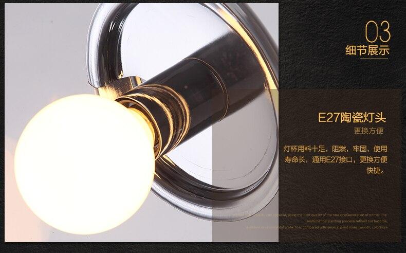 Obesek za milo mehurček LED moderna preprosta jedilnica spalnica - Notranja razsvetljava - Fotografija 4