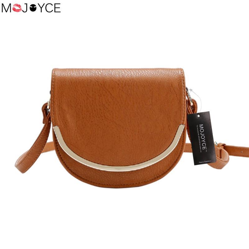 MOJOYCE PU Leather Women Crossbody Bags Fashion Design Women Shoulder Bags New Arrival Strap Ladies Bags bolsa feminina
