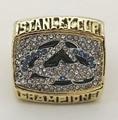 Promotion 2001 Colorado Avalanche 24K gold plated Fashion Custom Sports Replica Men World Championship Rings