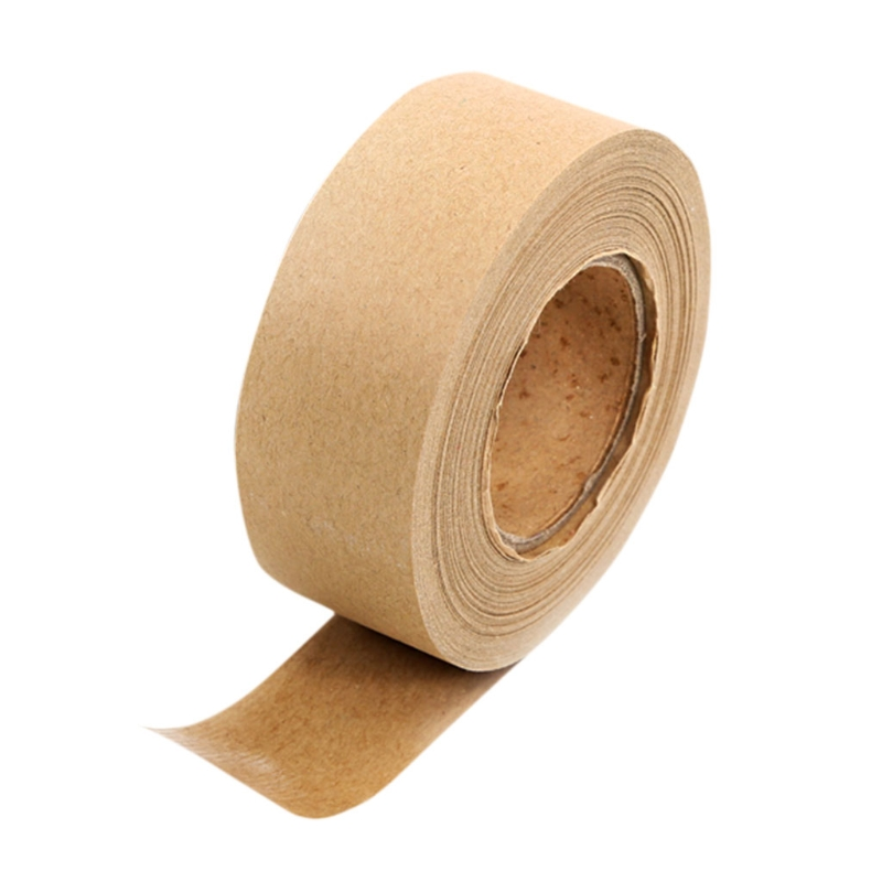 1 Roll High Quality Kraft Paper Brown Masking Tape For Picture Framing And Box Sealing 36mm Wide X 45m Long Kraft Paper Tape