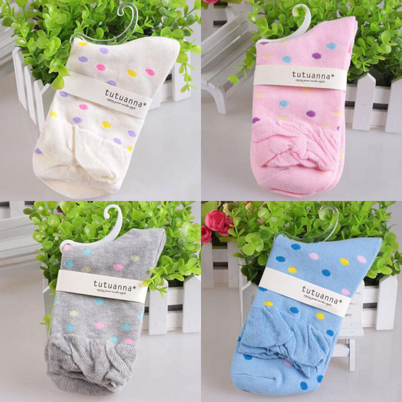 1Pair Lovely Dot Pregnant Women Socks Breathable Maternity Socks Women Ladies Loose Sock