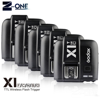 GODOX X1T-F X1T-C X1T-S X1T-O X1T-N 2.4G Wireless TTL HSS Flash Trigger Transmitter for Canon Nikon Sony Fujifilm Olympus Camera