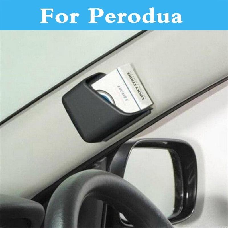 Functional Auto Car Tidy Storage Case Pocket Holder Pounch Box for Perodua Kancil Kelisa Kembara MyVi Nautica Viva