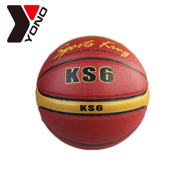 timeless design 7753c 1c7dc US $46.58 |Basketball Größe 6 # PU Leder Anti slip frauen Basketball Spiel  Professionelles Trainingsspiel Ball Korb Ballbasquete Baloncesto in ...