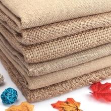 5ae08fdc4 150*50 cm arpillera Natural tela para manteles bolsas mantel decoración de  fondo de malla