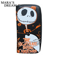 Mara's Dream 2017 Nightmare before Christmas Jack Skellington Cartoon PU leather Men & Women 19*10*2cm Ladies Purses Long Female