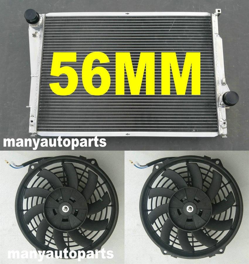 "9/"" Black Radiator Cooling Thin Slim Electric Power Fan Mounting Kit E36 E46"
