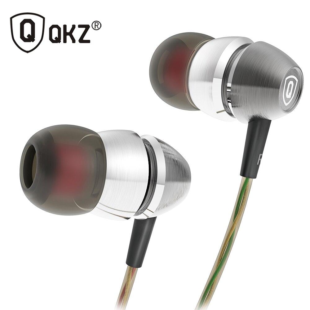 QKZ X8 Original Earphones fone de ouvido In Ear Earbud Music Bass Mobile Phone Computer Headset Sound True auriculares Studio