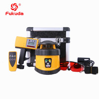 Laser Level with groundworks Rotary Laser level FRE 205 rotating laser fukuda brand