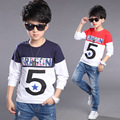 Kids T-Shirts For Boys Clothes 2 Long Sleeve Boys T-Shirts Children Clothing 4 Cotton Tees Tops 8 Autumn School Uniform 10 Years
