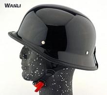 Frete grátis para casque vtt descente modulaire casque casque moto harley Capacete restaurar antigas formas moto capacete