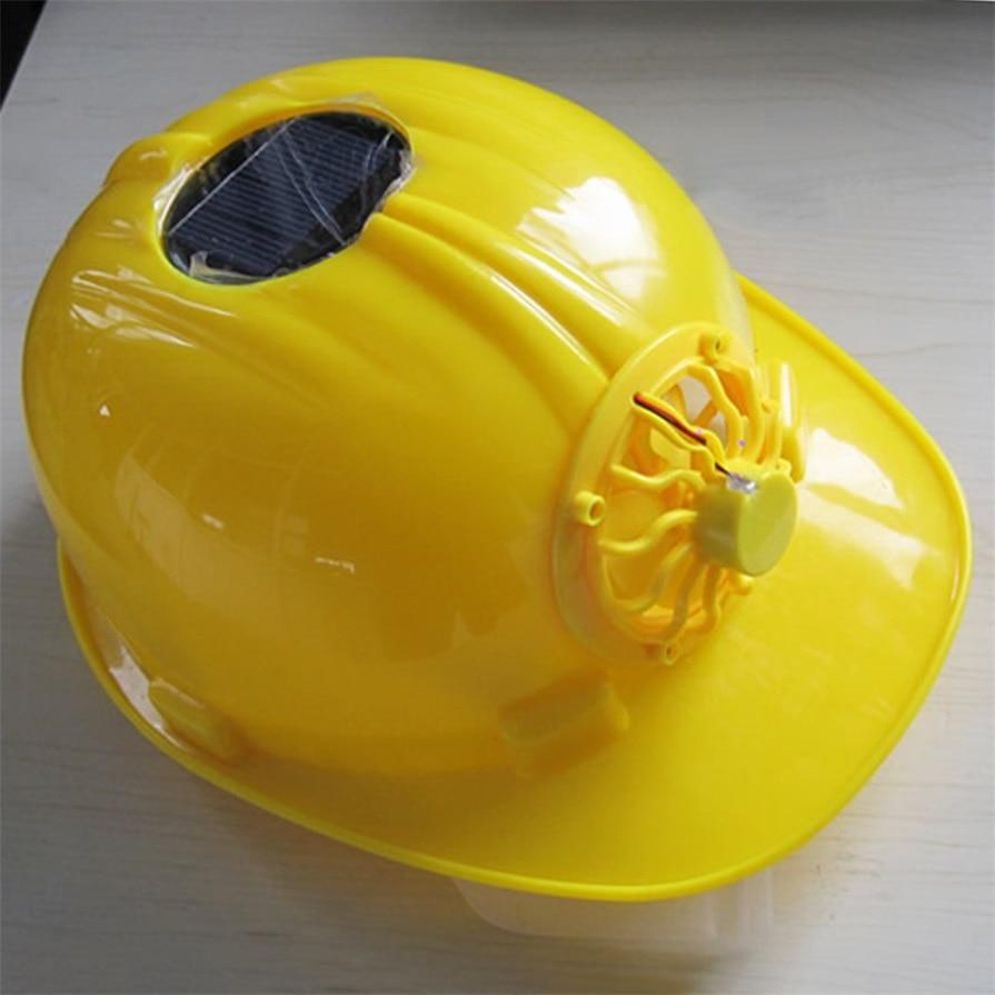 Sicherheit & Schutz Klassische Solar Energie Sicherheit Helm Harte Lüften Hut Cap Kühlen Ventilator Herrliche Günstige Und Neue Heißer Verkauf Arbeitsplatz Sicherheit Liefert
