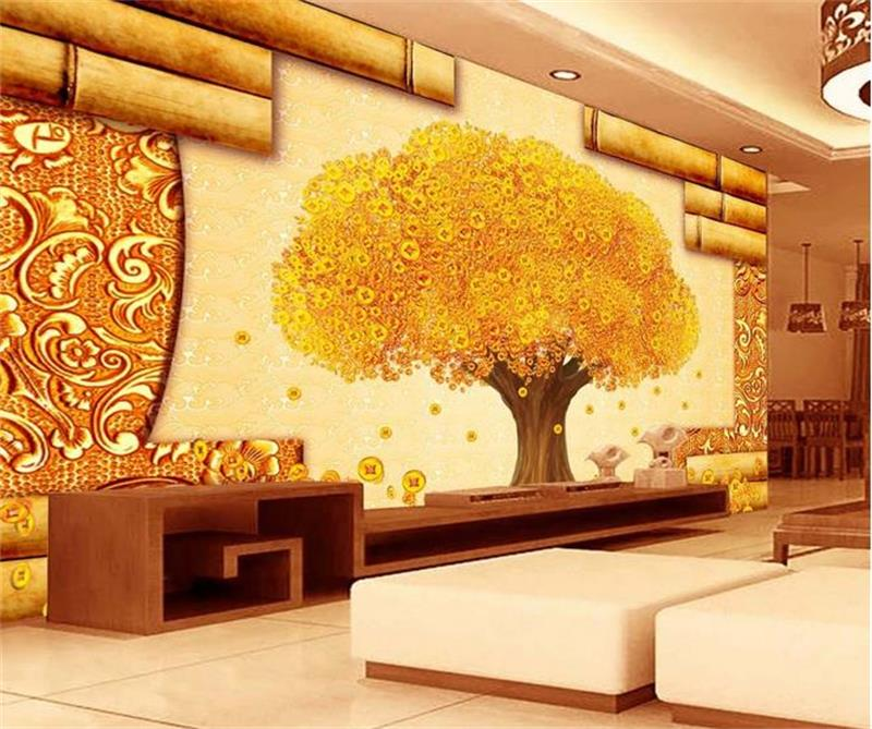 3d room wallpaper custom mural non woven wall sticker China Wind ...