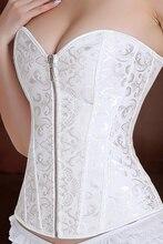 Gros corset sans bretelles