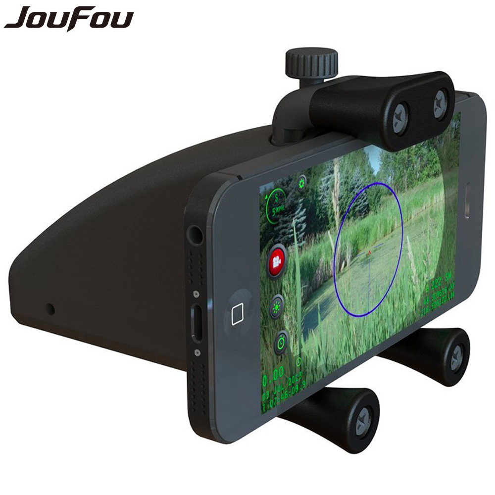 ФОТО JouFou Tactical Accessories Riflescope Mount Smartphone Bike Mount Cell Phone Holder Fits for Outdoor Hunting Camping