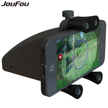 JouFou Tactical Accessories Riflescope Mount Smartphone Bike Mount Cell Phone Holder Fits for Outdoor Hunting Camping