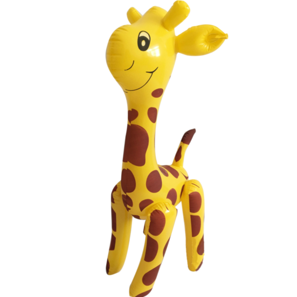 Blow Up Giraffe Design Cute Party Balloon Gift Cartoon Animals Novelty Deer Shaped PVC Inflatable Toy Large Children