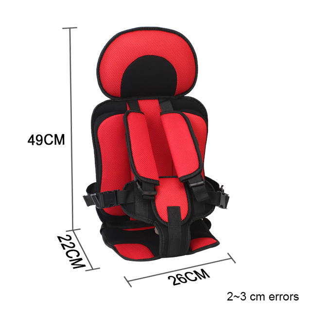 Placeholder Portable Car Seats For Travel Child Safety Seat Mat Infant Carseats 9 Months
