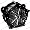 Contrast Cut Venturi Air Cleaner Intake Filter System For Harley Softail Dyna 93 13 Model