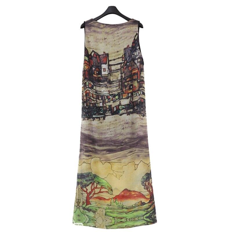 Queechalle 2019 Ամառային զգեստ Կանացի մեծ - Կանացի հագուստ - Լուսանկար 5