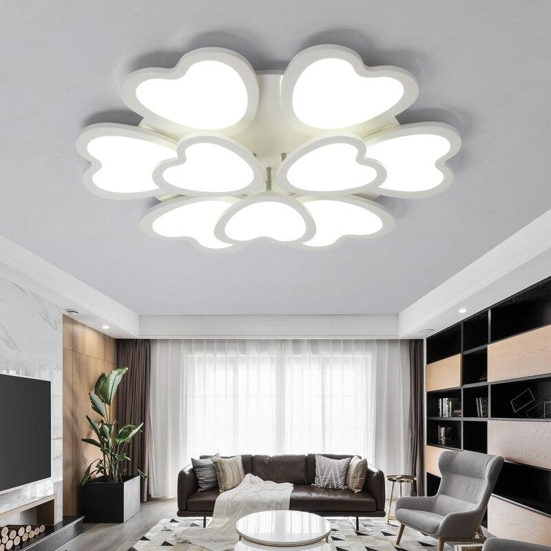 Online Shop Modern LED Ceiling Lights Kitchen Living Room Bedroom Light Lampen Kristal Moderne Design Fixture Luminaire Lamp