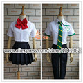 Kimi no Na wa Your Name Mitsuha Miyamizu summer suit Cosplay Costume customized size