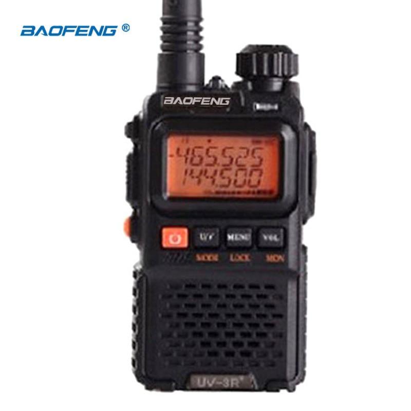 BaoFeng UV-3R más radio inalámbrica portátil de largo alcance WalkieTalkie Banda dual Radio profesional de transceptor FM