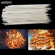 1 PACK BBQ Accessories Bamboo Skewers Grill Shish Kabob Wood Sticks Barbecue BBQ Tools churrasco barbecue grill mats(China)
