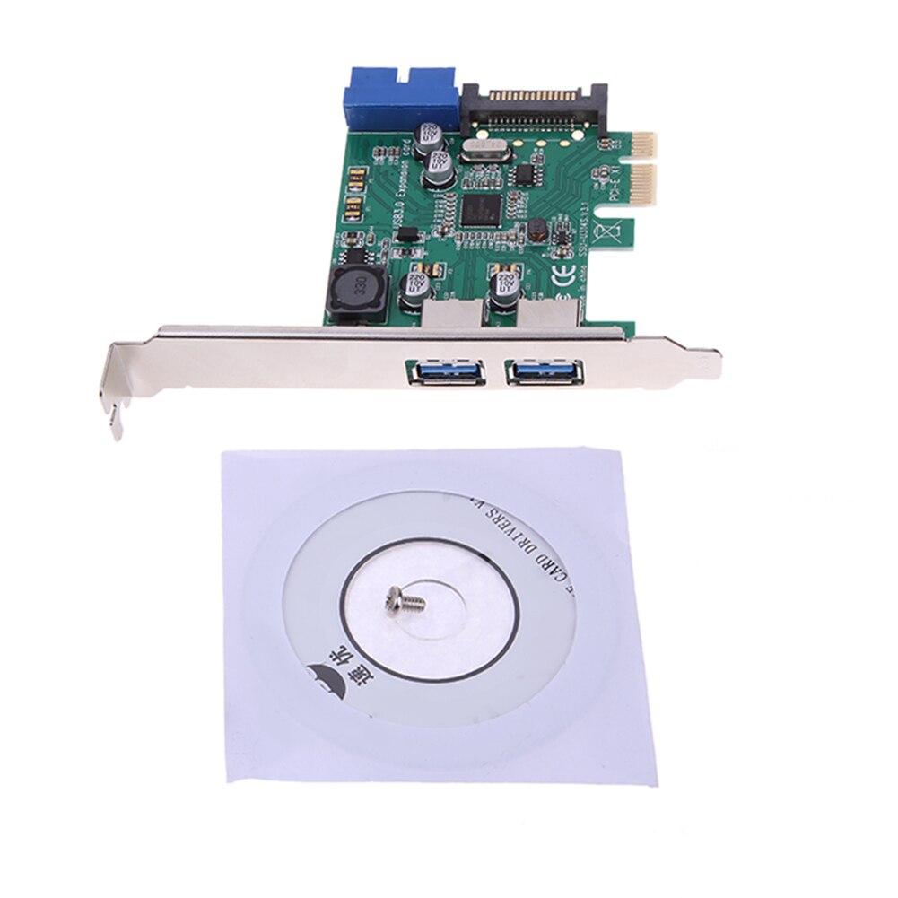 4 Ports Usb 30 Pcie Pci Express Carte Dextension 2 Externe Port Card E Type Usb30 Interal 19pin Tte Chipset Pour Nec720201 Modes De Bus X1 Compatible Slot X4 X8 X16