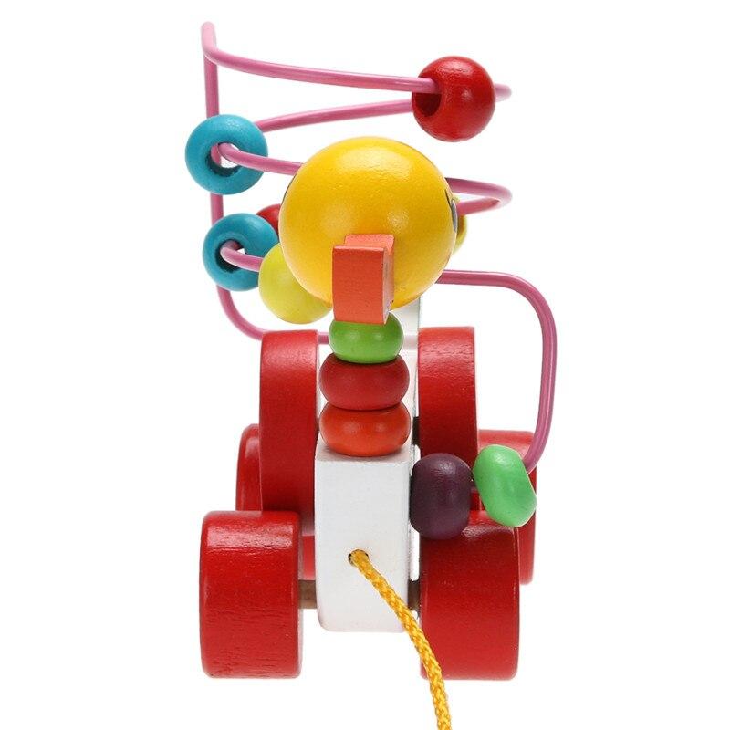 938fa289219d0c Eendje Trailer Speelgoed Baby Houten Speelgoed Kinderen Educatief Speelgoed  9 Maanden tot 3 Jarigen Eendje Trailer Ronde Geschenken WYQ in Eendje  Trailer ...