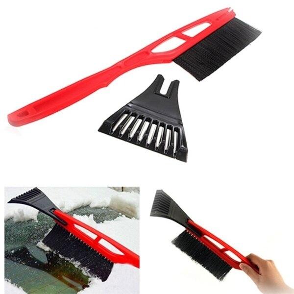 Car Wiper Scraper Brush for Scraping The Snow Ski Snow Shovel Windshield Clear Articles To Cream-minicloud
