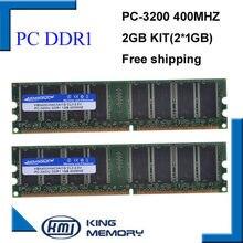 Оперативная память KEMBONA DDR1, 2 Гб в комплекте (2 * DDR1 1 ГБ), 400 МГц, PC3200, LONGDIMM, Поддержка всех материнских плат, пожизненная гарантия, бесплатная дос...