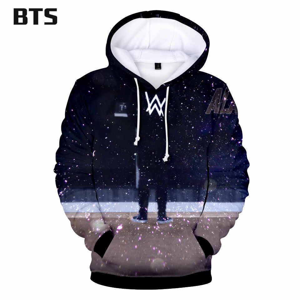 cc5e5ce8f8f5 Print Hoodies Fashion 3D Alan Olav Walker Sweatshirts Popular Long Sleeve  Men Clothes Hooded Kpop Tops
