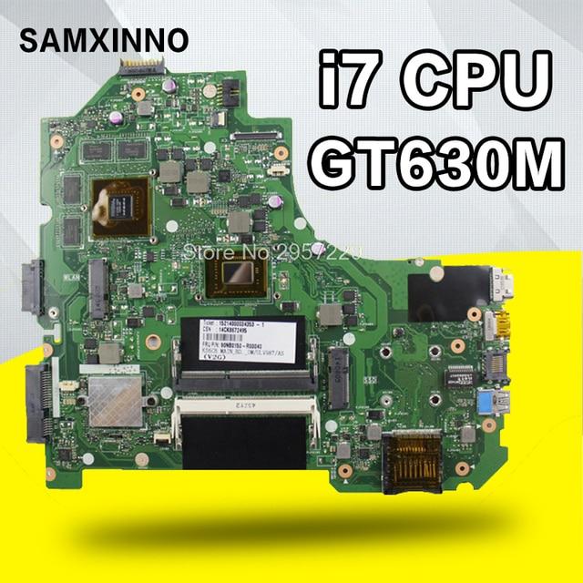 K56CM материнской REV2.0 I7 GT635/630 м Оперативная память для ASUS S56C S56CM S550C S550CM K56CB Материнская плата ноутбука K56CM тест плата 100% OK