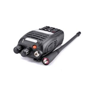 Image 2 - 100% Original Baofeng UV B5 Station de Radio bidirectionnelle VHF UHF 5W 99CH jambon Radio FM émetteur portable talkie walkie B5 émetteur récepteur