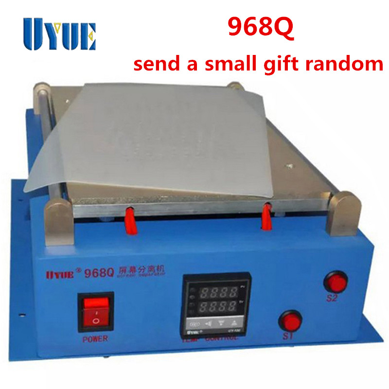 Free Shipping UYUE 968Q 14 inch 110/220V Build-In Air Pump Vacuum LCD Separator Machine Screen Repair Machine For iPhone Tablet anti fatigue 300 degree resin lens presbyopia reading glasses golden black